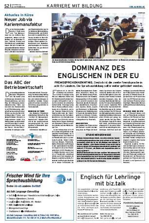 Wirtschaftsblatt 29.09.2010
